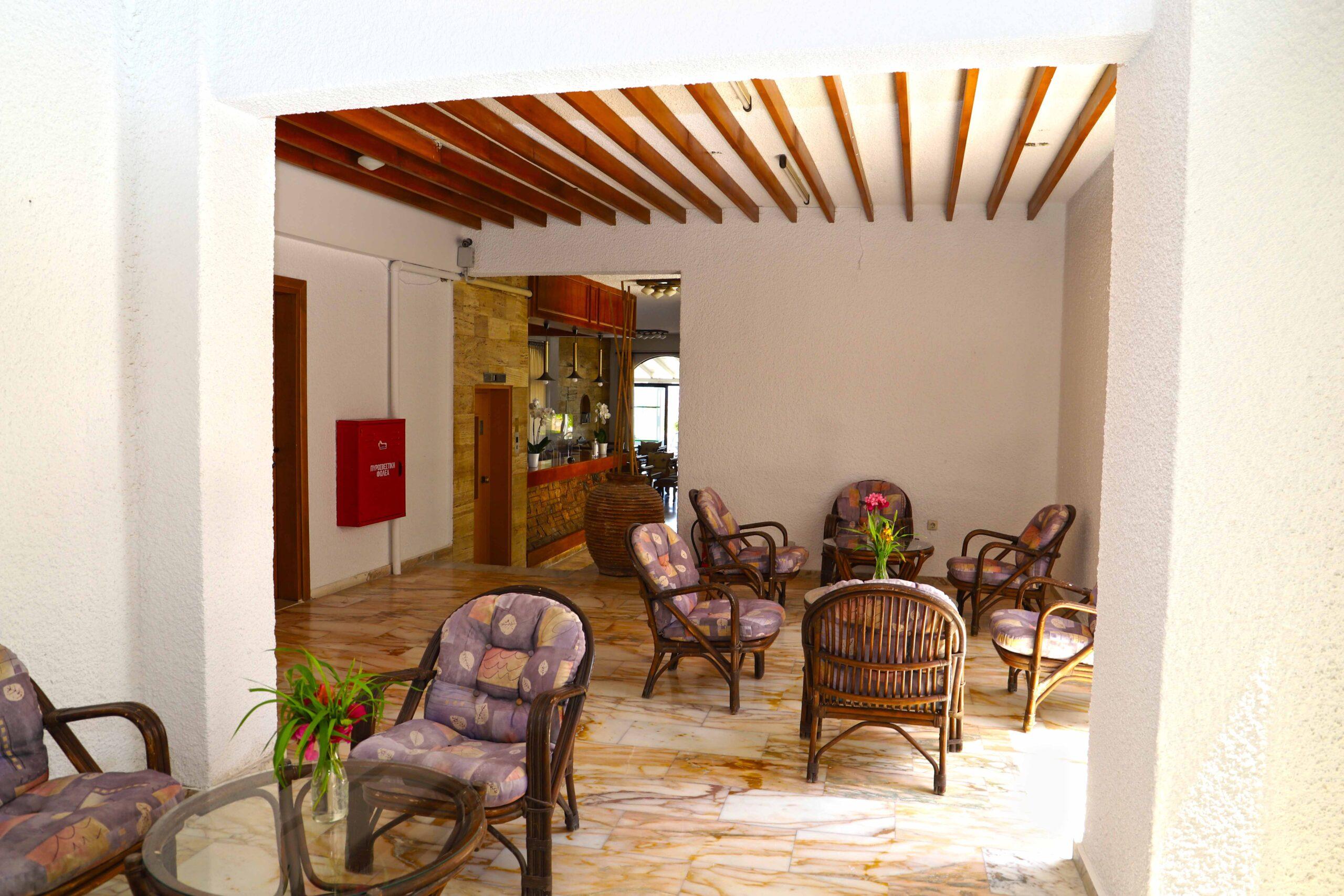 Bamboo Lobby Area